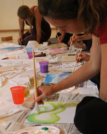 Kleurenpad-workshops