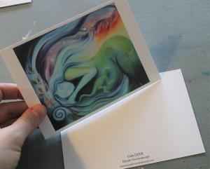 Kunstkaart A6 Myrtle