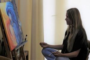 meditatief schilderen kunst therapie