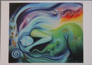 A6 Kunstkaart Gaia