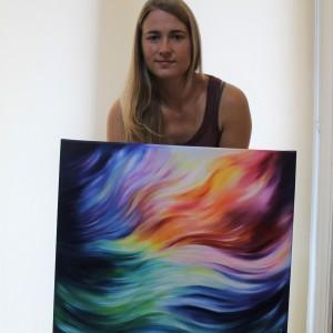 Energy in Motion origineel schilderij