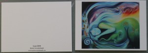 "Kunstkaart ""Gaia"" A6"